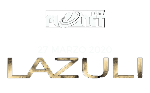 Lazuli in concerto 27 marzo 2020 Planet Live Club Roma